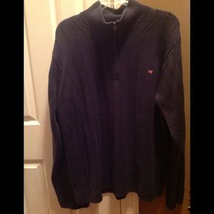 Ralph Lauren Polo Zip Neck Sweater, XXL